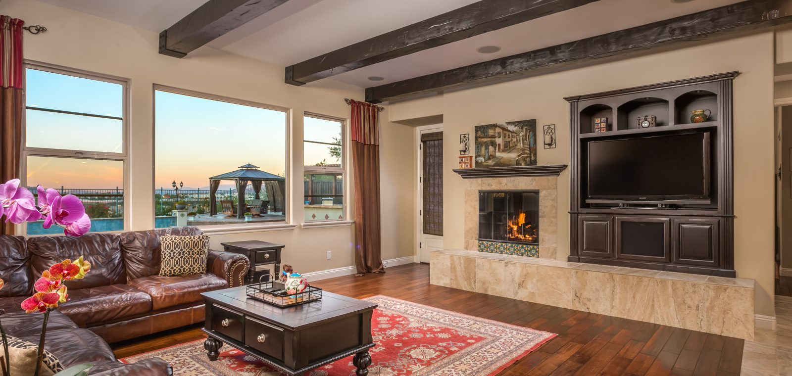 Living Room View - Blumenfeld Group | San Diego Homes for Sale